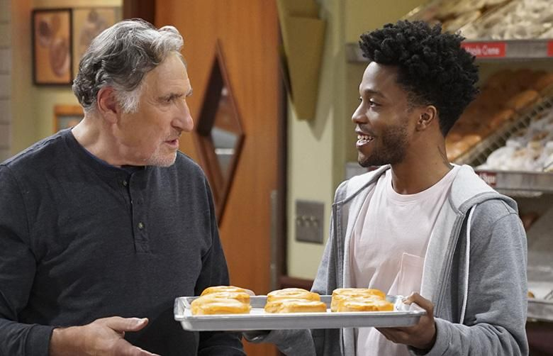 Superior Donuts Stars Judd Hirsch And Jermaine Fowler Superior Donuts Cbs Favorite Tv Shows