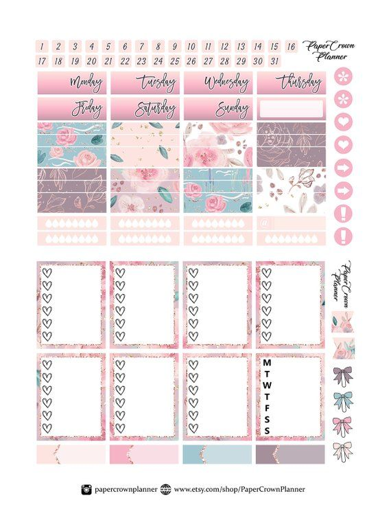 mommy and me printable planner stickers mother 39 s day etsy stikers lindos pinterest. Black Bedroom Furniture Sets. Home Design Ideas