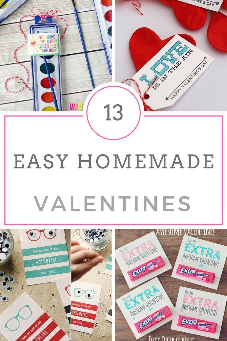 Valentines, Homemade Valentines, Valentines Day DIY, DIY Valentines ...