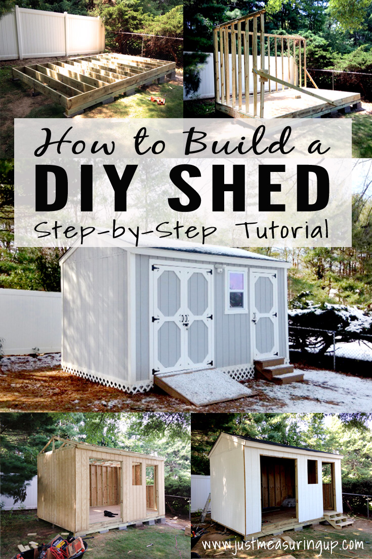 How to Build a Storage Shed from Scratch | Step-by-Step Tutorial for DIYers
