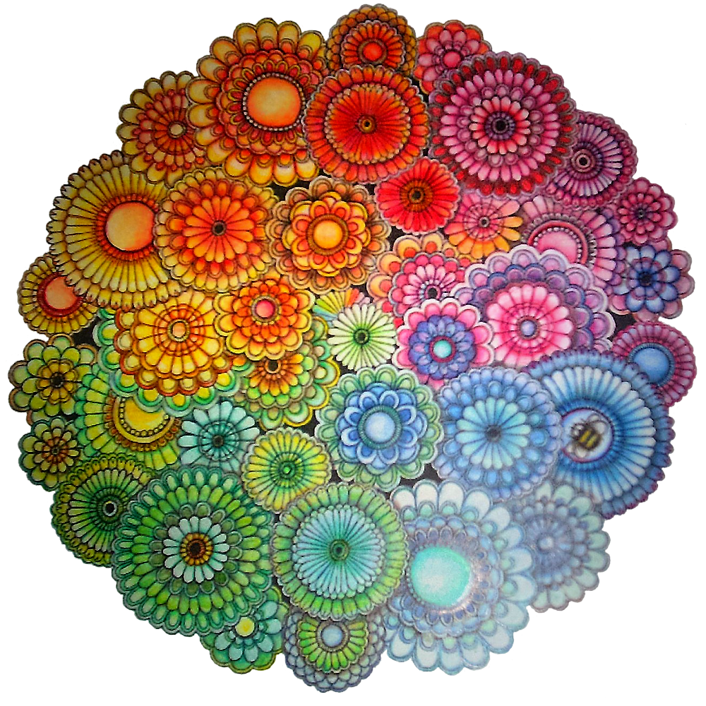 Arte antiestres taller mandalas mandalas mandalas de - Colores para mandalas ...