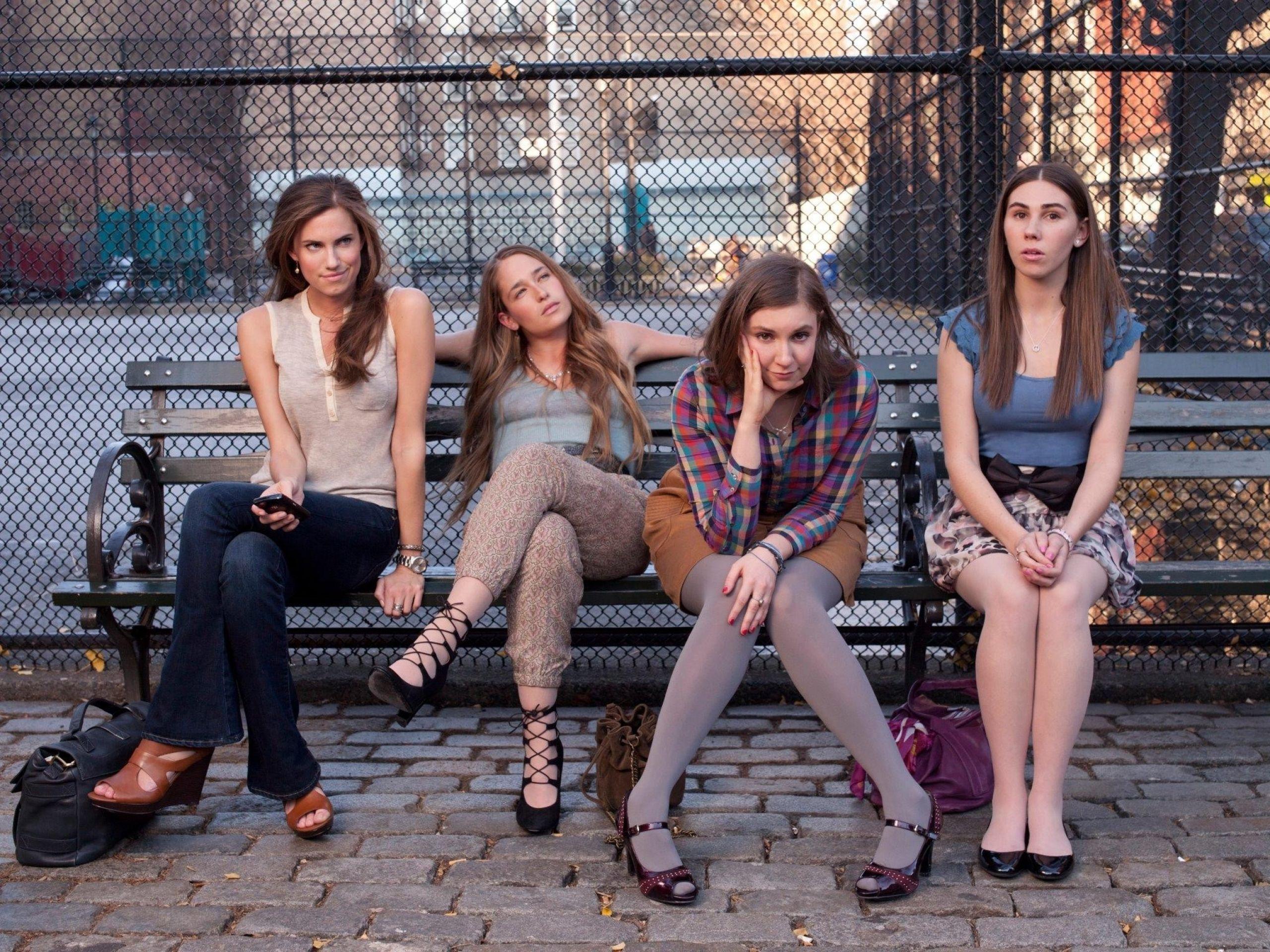 HBO Girls wear soft opaques