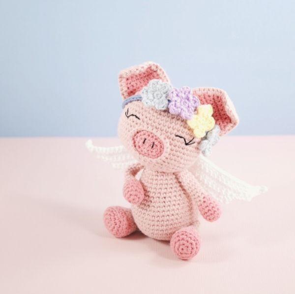 Free Princess Amigurumi Crochet Pattern : Pippa Pig amigurumi pattern by LittleAquaGirl Wool ...