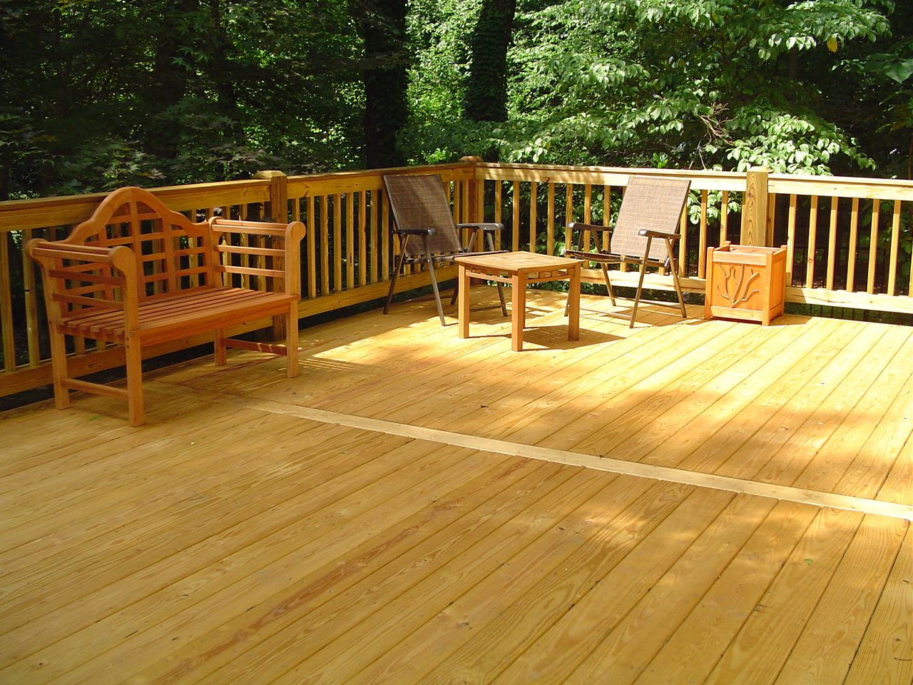 Decks In Charlotte Nc Hardwood Decking Wooden Pool Deck Wooden Decks
