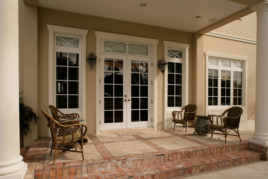 French doors with transom and windows french door with for Transom windows exterior