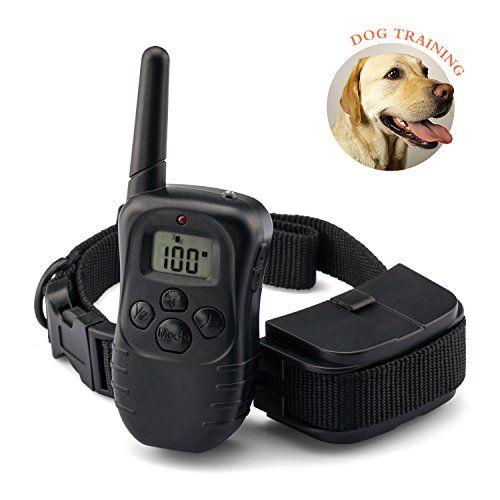 Dog Training Collar Remote Pet Shock Collar Water Resistance
