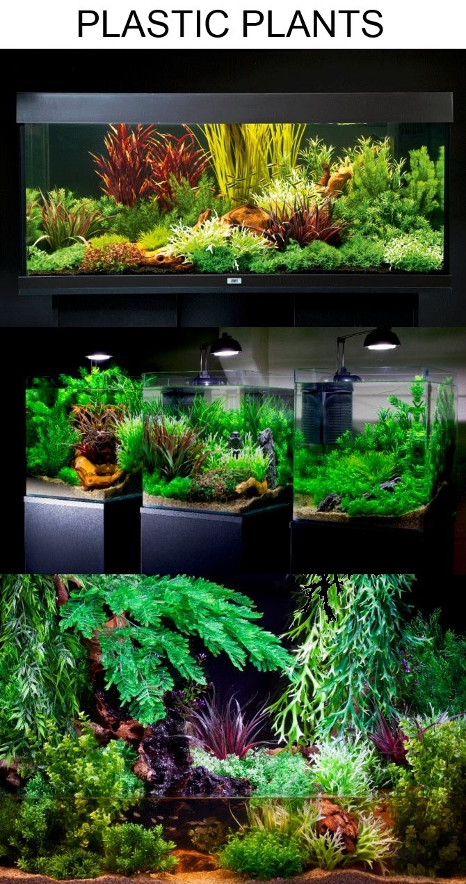 Aquascaping With Plastic Plants Only Artificial Aquarium Plants Planted Aquarium Plastic Aquarium Plants