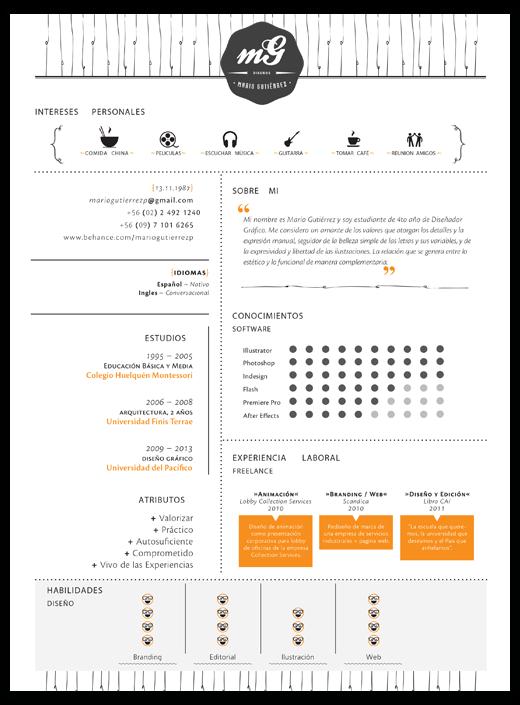 20 Cool Resume U0026 CV Designs