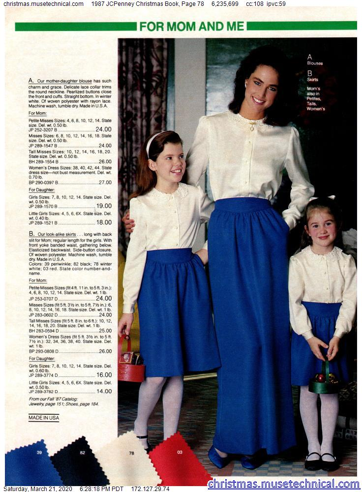 Jcpenney Christmas Catalog 2020 1987 JCPenney Christmas Book, Page 78   Christmas Catalogs