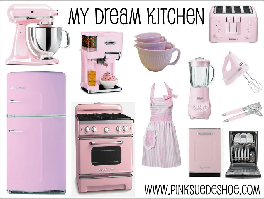 delightful Baby Pink Kitchen Appliances #2: Baby Pink Kitchen Appliances Zitzat