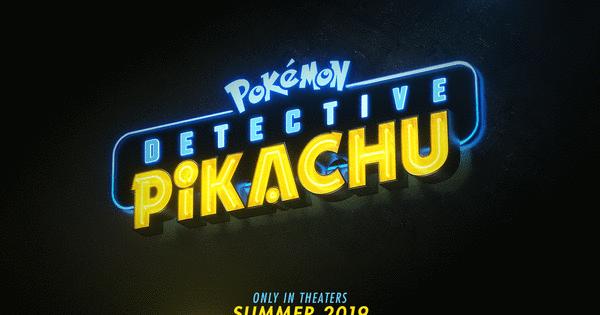 Live Action Detective Pikachu Film S Logo Revealed