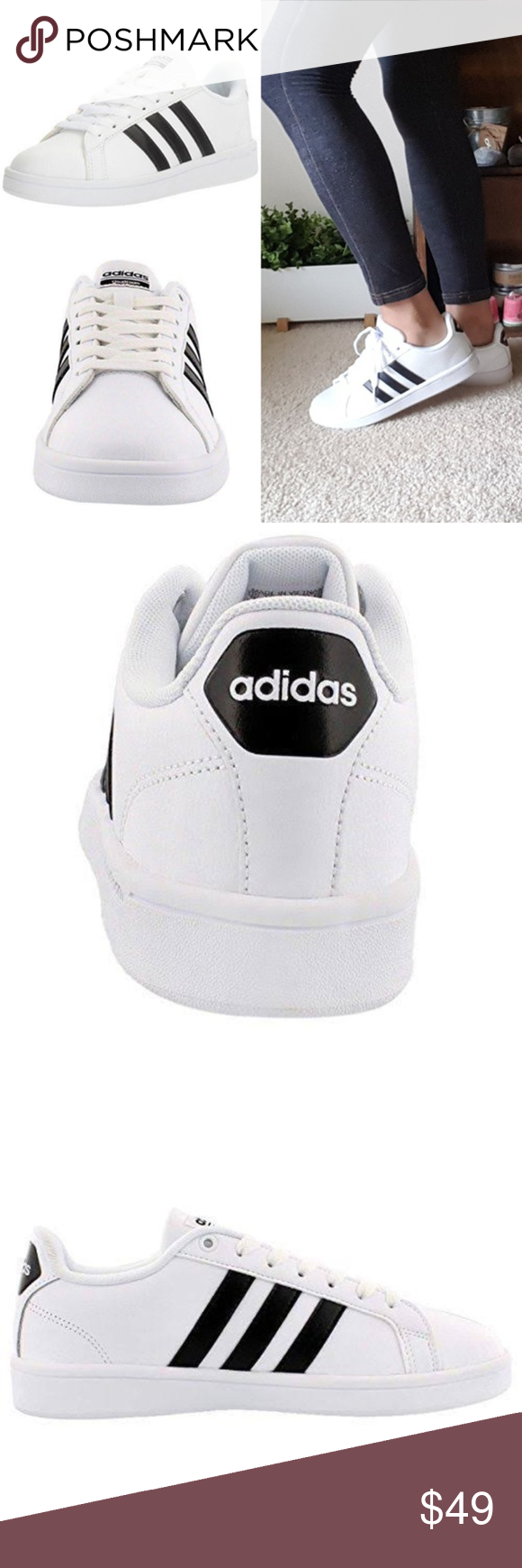 Adidas Women's Essentials Grand Court Shoes NWT | Shoes