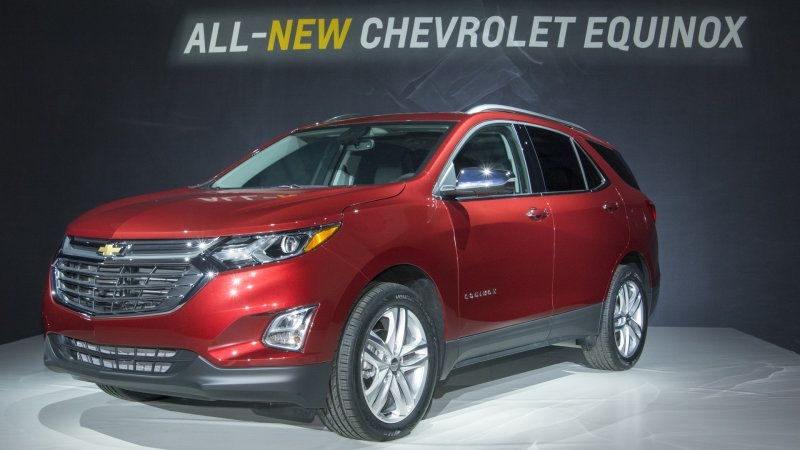 2018 Chevy Equinox Gains Turbo Power And An Optional Diesel Chevrolet Equinox Chevrolet Chevy Equinox