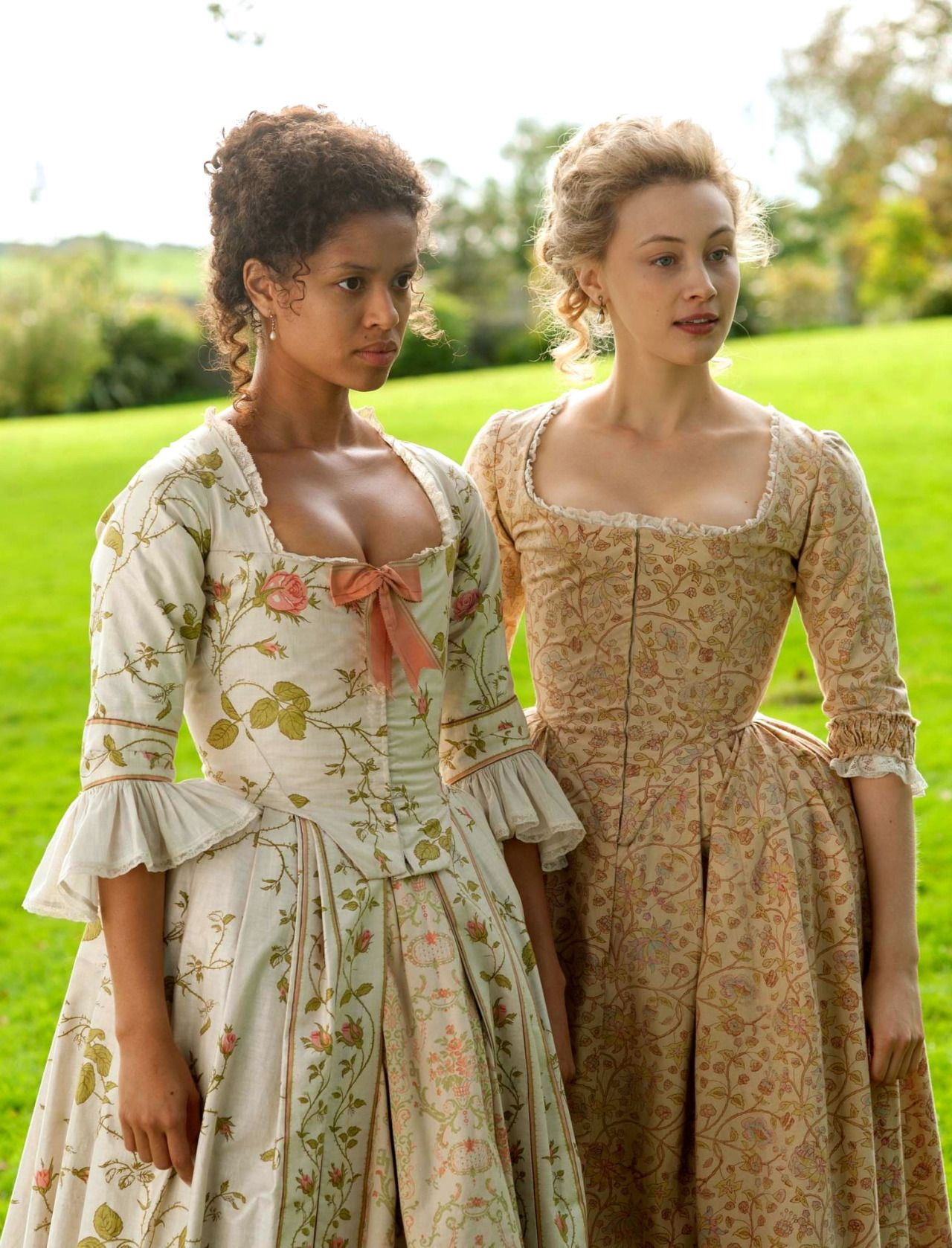 The Enchanted Garden | Gugu Mbatha-Raw as Dido Elizabeth Belle and ...