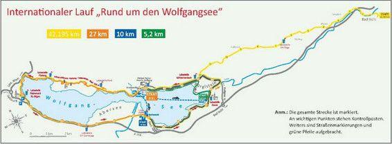 wolfgangseelauf strecke - Google-Suche