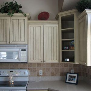 Refacing Kitchen Cabinet Doors With Beadboard | http://triptonowhere ...
