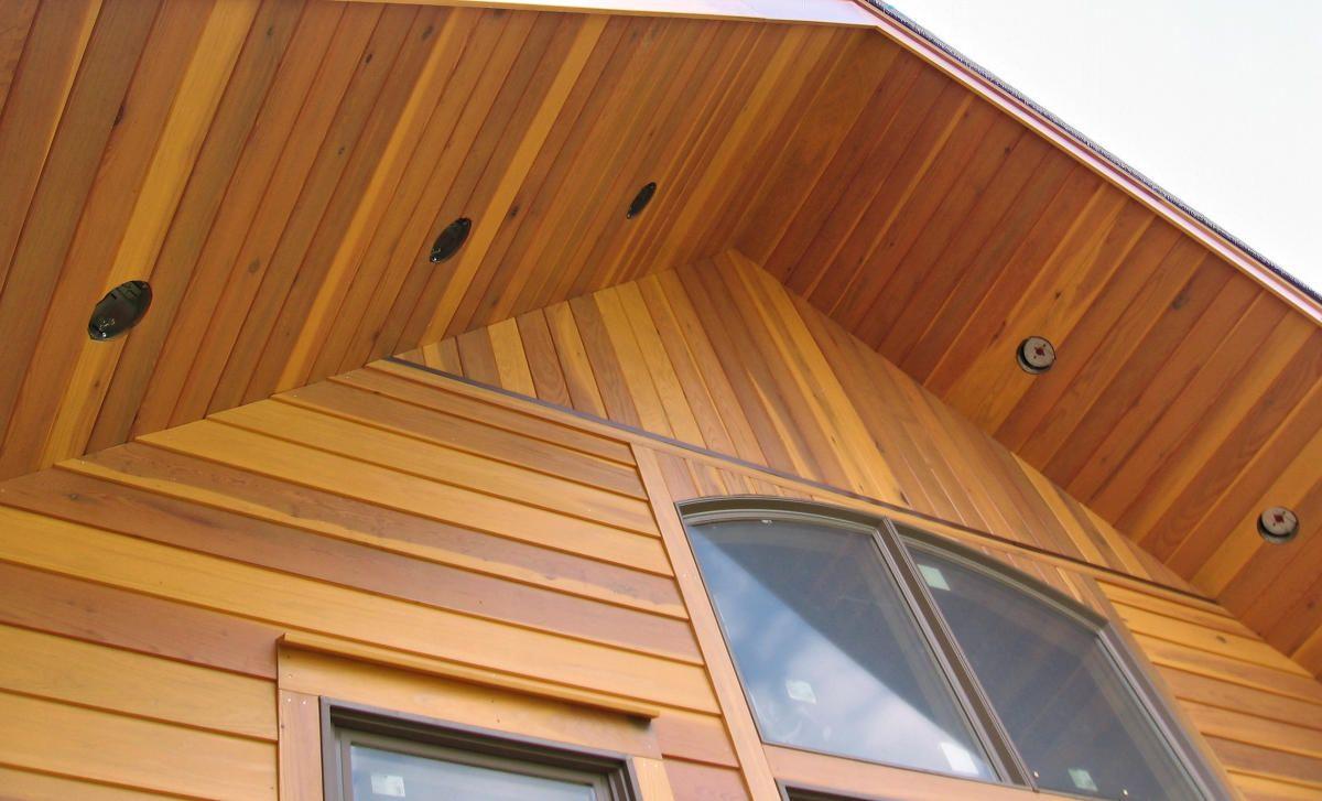 Best Redwood Siding Sap B Grade Near Clear Grade 1X8 Rabbeted 400 x 300