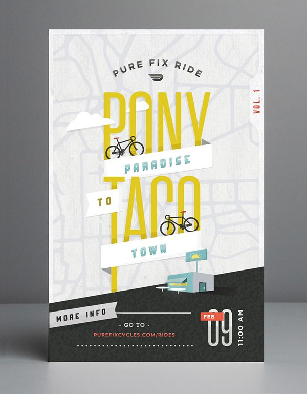 Cycling Event Poster Collection on Behance