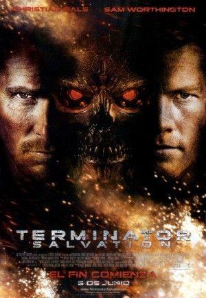 Terminator 4 Salvacion Carteles De Peliculas Famosas Peliculas Portadas De Peliculas