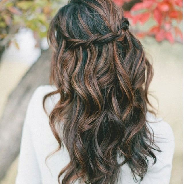 Black Hair With Light Brown Highlights Tumblr #14 | Hair ...