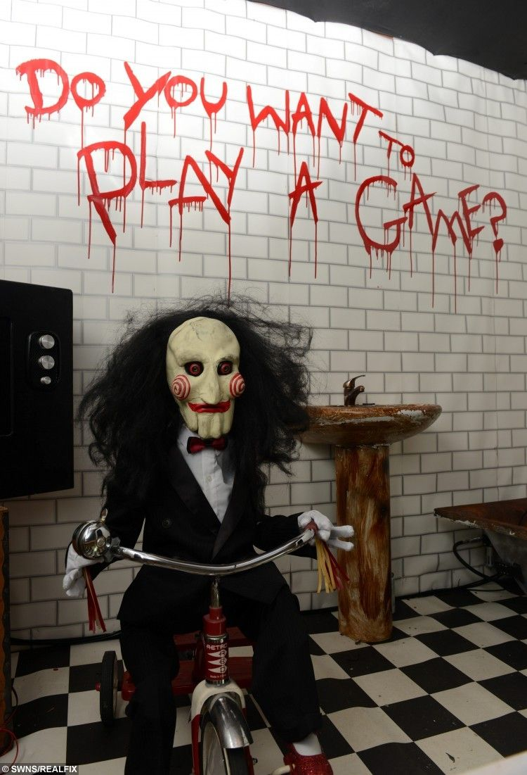 Creepy Clown Halloween Decorations.Image Result For Scary Clown Tricycle Haunted House