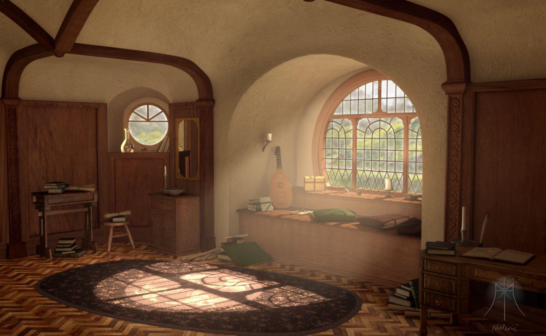 Hobbit Interior Design bag end window | board of the rings | pinterest | window, hobbit