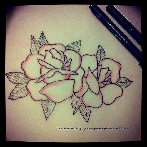 I Have To Fix Up An Upper Arm Tattoo Tomorrow And Add Some Roses So