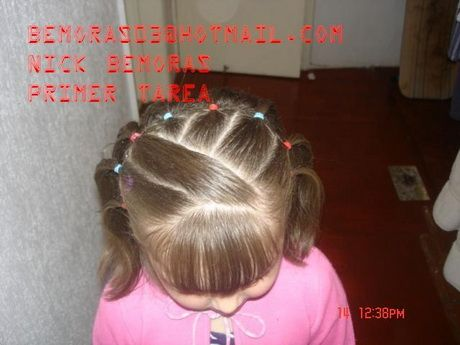 Bello Y Facil Peinados Nina Baby Girl Hairstyles Toddler Hair Y