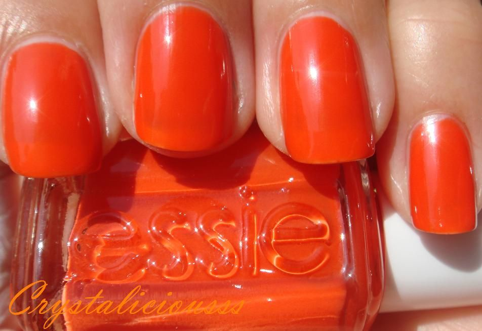 Essie Capri.. Searching for a tangerine nail color   My Closet Wish ...