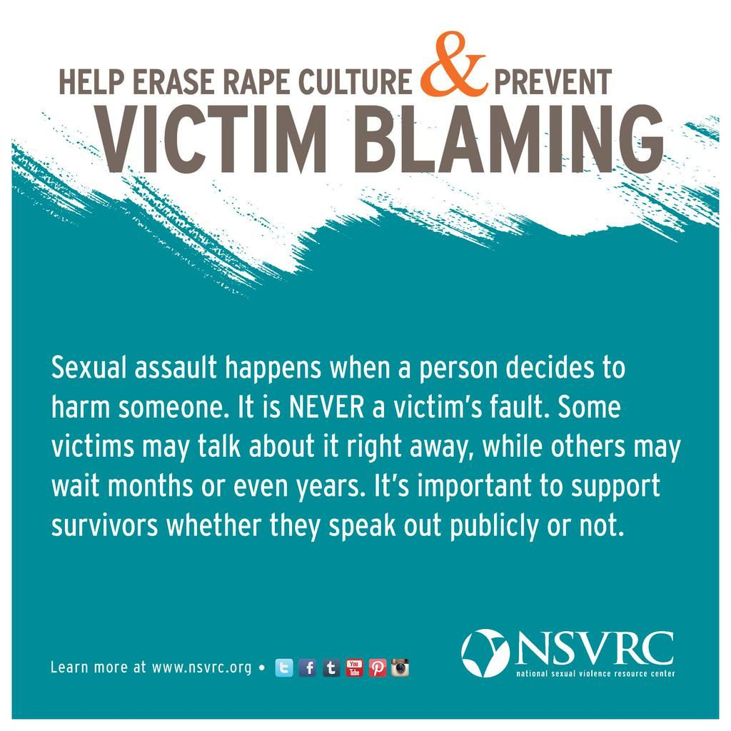 Today Is The International Day Against Victim Blaming
