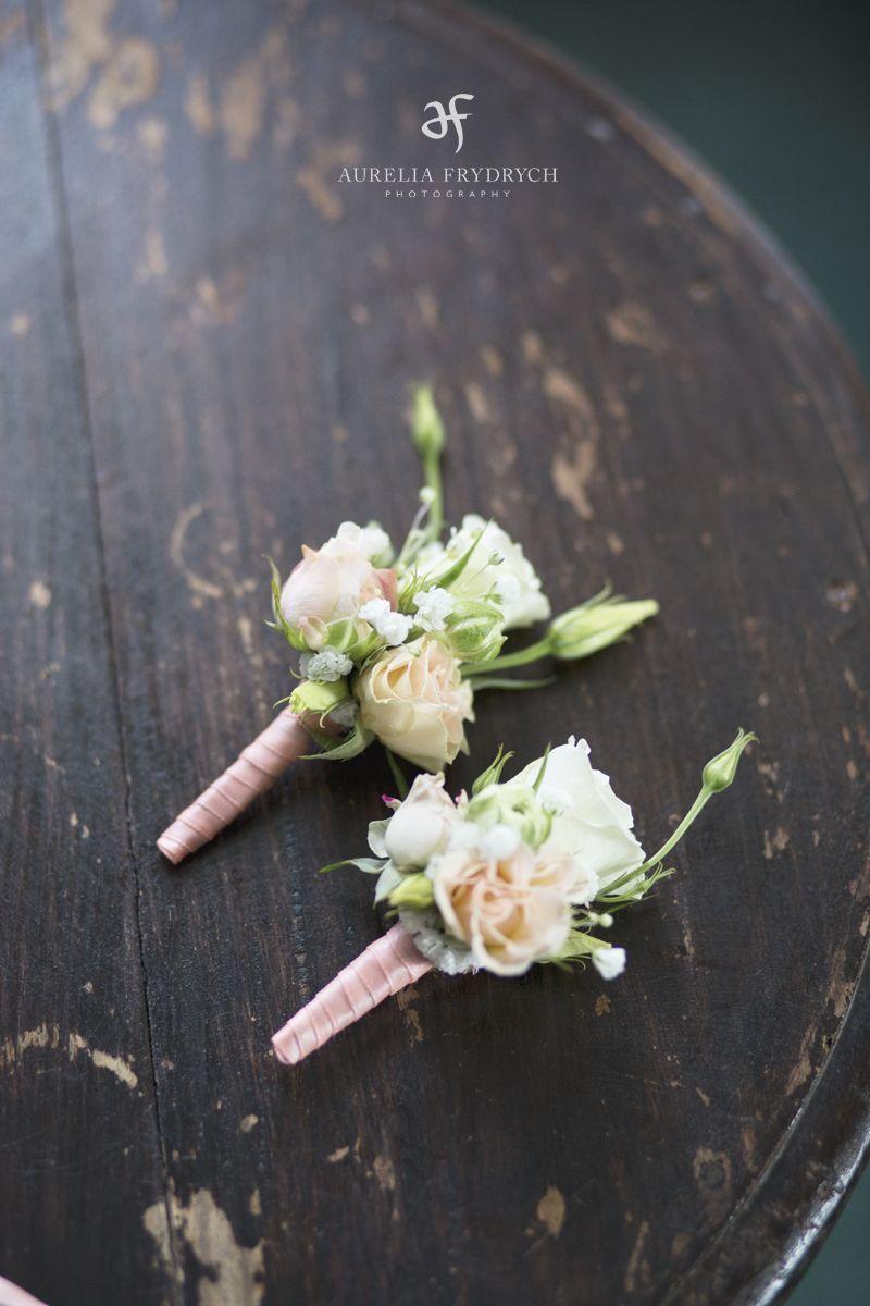 Inna Studio Buttonhole Butonierka Dla Pana Mlodego I Swiadka Pastelowe Fot Aurelia Frydrych Photography Wedding Flowers Flowers Wedding