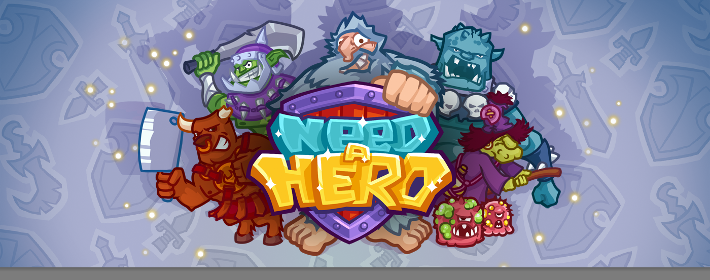 NEED A HERO GAME on Behance