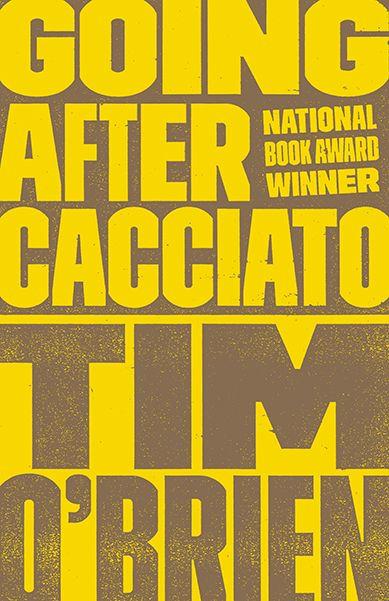 Cover/series design: Cardon Webb. (Tim O'Brien backlist. Broadway Books, May 2014.)