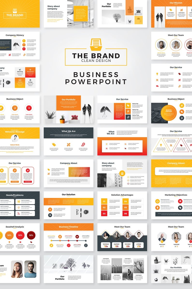 32 Best powerpoint corporate template for May 2020