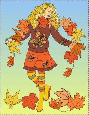 Nicole's Free Coloring Pages: Autumn coloring pages