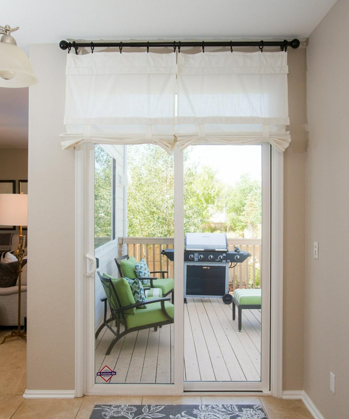 Off White Sliding Glass Door Curtain Shade Pricing Is For 1 Panel Sliding Glass Door Curtains Glass Door Curtains Sliding Glass Door Coverings
