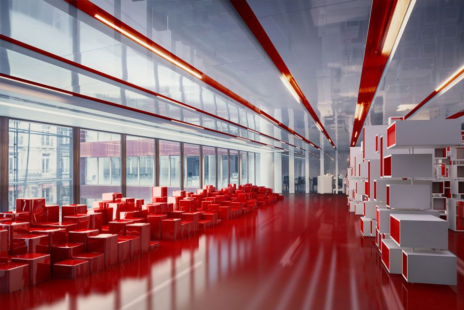 ogilvy and mather office. Ogilvy \u0026 Mather Office By Stephane Malka Architecture, Paris And