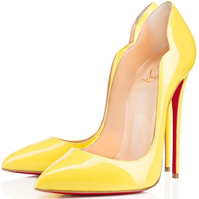 ff0530aa92c Zendaya Stuns in Yellow Christian Louboutin