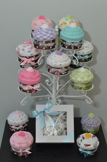 cupcake onesies gift idea video instructions  onesies, diapers, Baby shower invitation