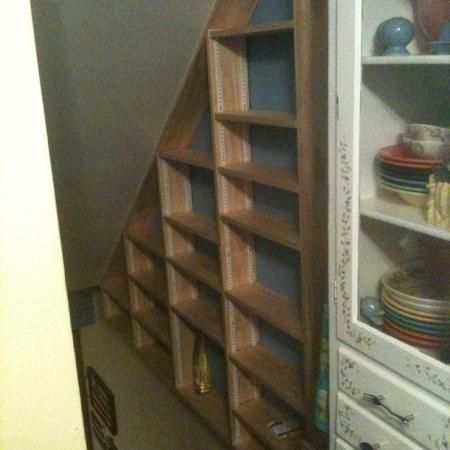 Basement Stairs Under Stairs Storage Shelves