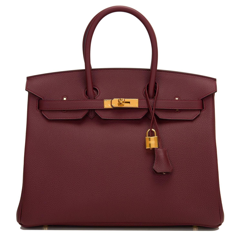 8eb3f377570 Hermes  Birkin  Bag Bordeaux Togo Gold Hardware