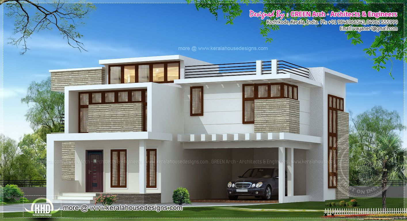 Kerala Home Design 700 Sq Ft Part - 41: House · Front Elevation Of Duplex House In 700 Sq Ft ...