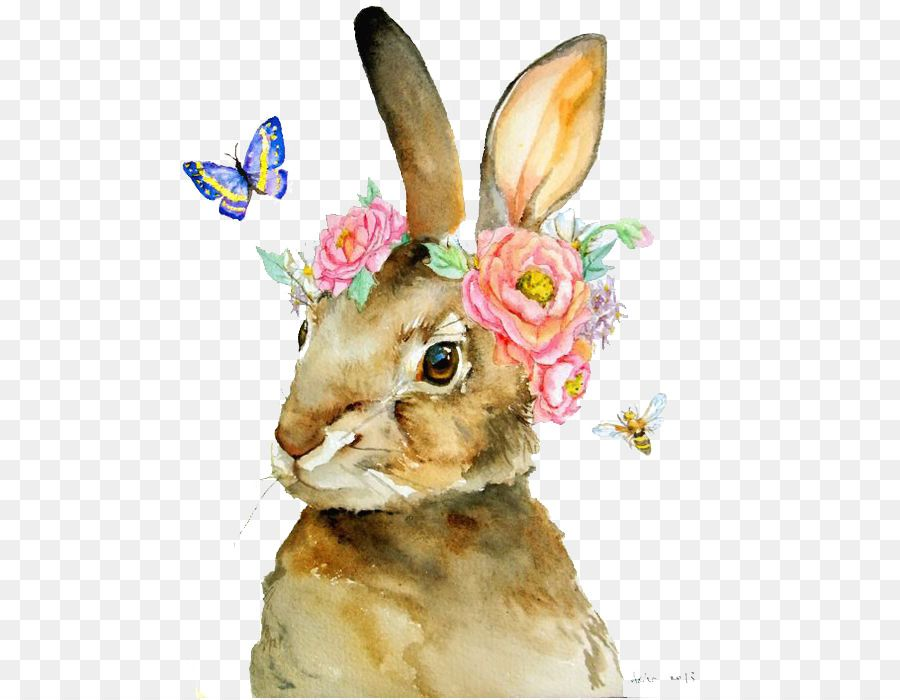 The Tale Of Peter Rabbit T Shirt Watercolor Painting Illustration Rabbit Png Is About Is About Wildlife Rabbit Painting Rabbit Illustration Bunny Watercolor