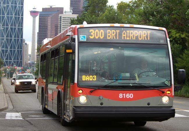 Calgary Transit 300brt Line Calgary Paths Photo Galleries