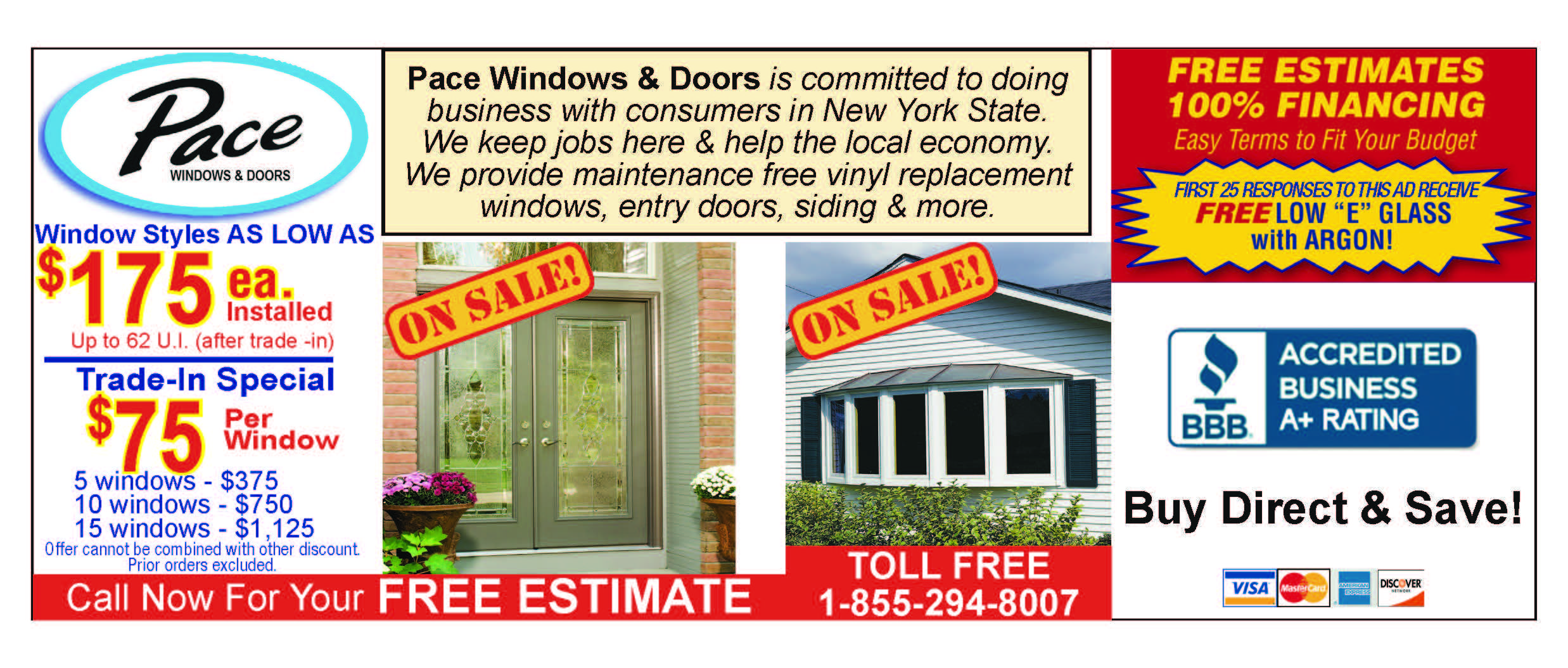 Pace Will Help You Save On All Your Window And Door Needs Rochester Ny