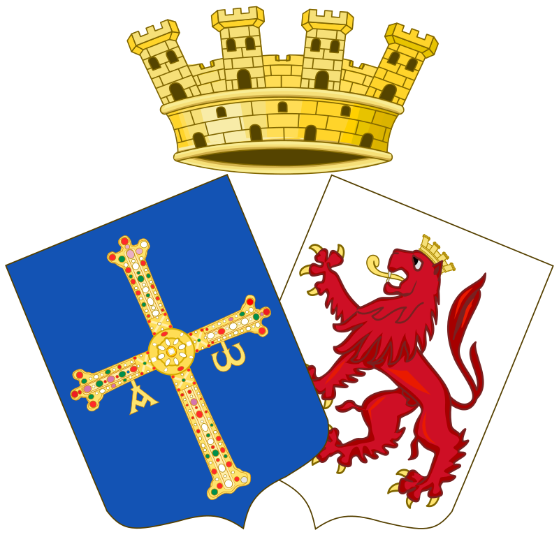 Sovereign Council Of Asturias And León Coat Of Arms Arms Asturias