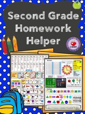 First grade homework helper sheet