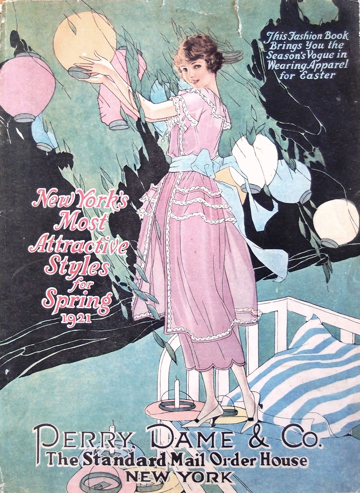 Perry Dame & Co catalogue cover, Spring 1921 | Cover Girls-The ...