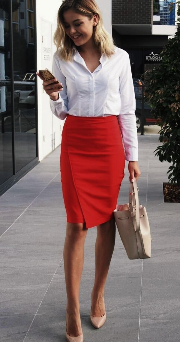 40 Non-Boring Work Outfits Ideas for Career Women #businessattire
