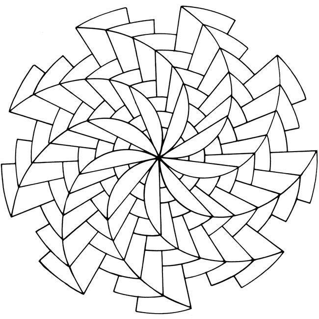 Schönes Muster - S in 2020 Mandala malvorlagen Mandala